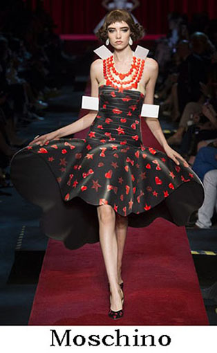 Moschino Spring Summer 2017 Fashion Clothing Women 47