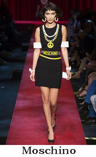 Moschino Spring Summer 2017 Fashion Clothing Women 5