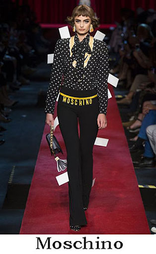 Moschino Spring Summer 2017 Fashion Clothing Women 7