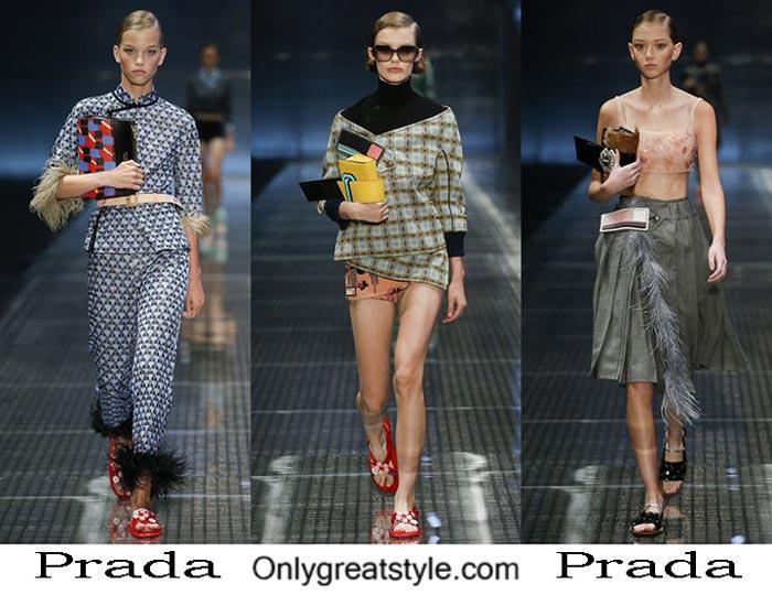Prada Spring Summer 2017 Fashion Brand Style For Women