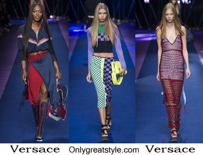 Versace Spring Summer 2017 Fashion Brand Style For Women