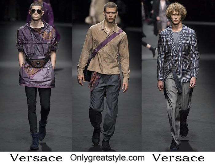 Versace Spring Summer 2017 Fashion Show For Men