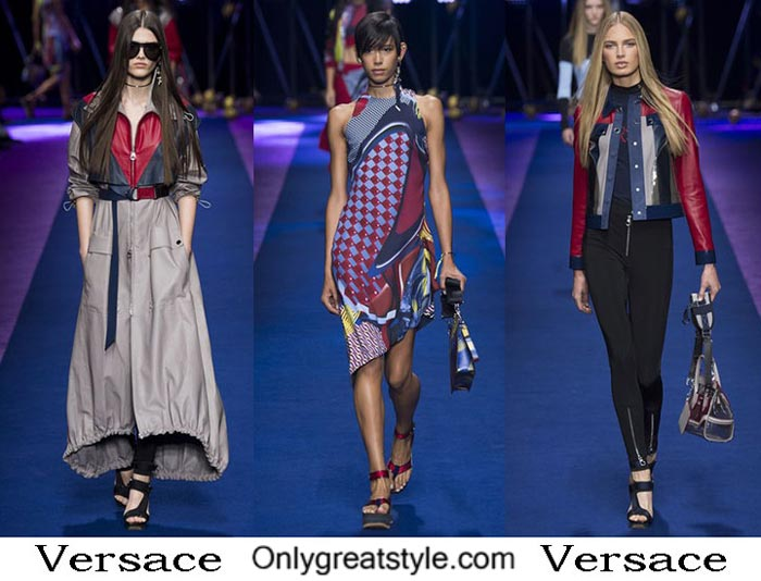 Versace Spring Summer 2017 Fashion Show For Women