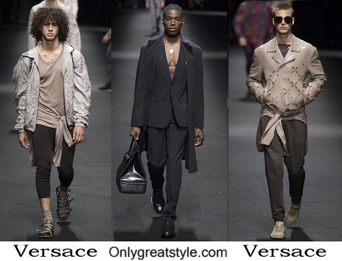 Versace Spring Summer 2017 Lifestyle Clothing For Men