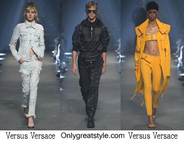 Versus Versace Spring Summer 2017 Fashion Show Men Women