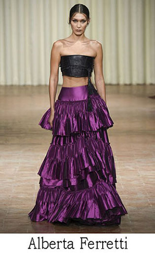 Alberta Ferretti Spring Summer 2017 Fashion Clothing 1