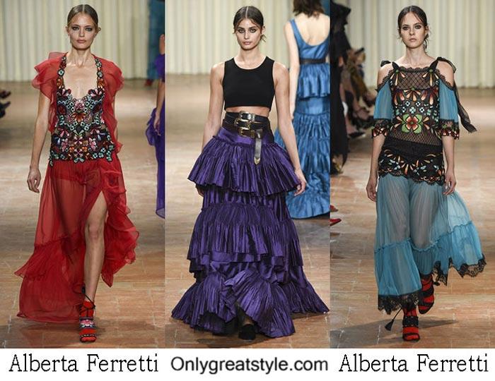 Alberta Ferretti Spring Summer 2017 Fashion Show For Women
