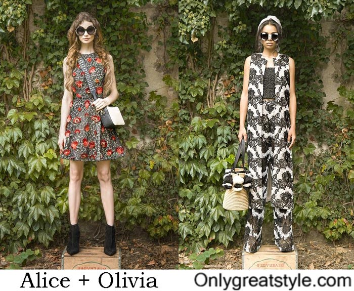 Accessories Alice + Olivia Spring Summer 2017
