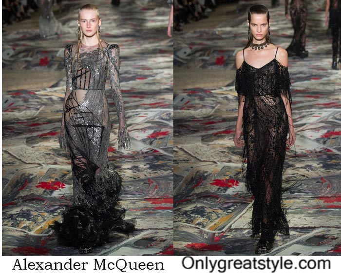 Alexander McQueen Collection Spring Summer 2017