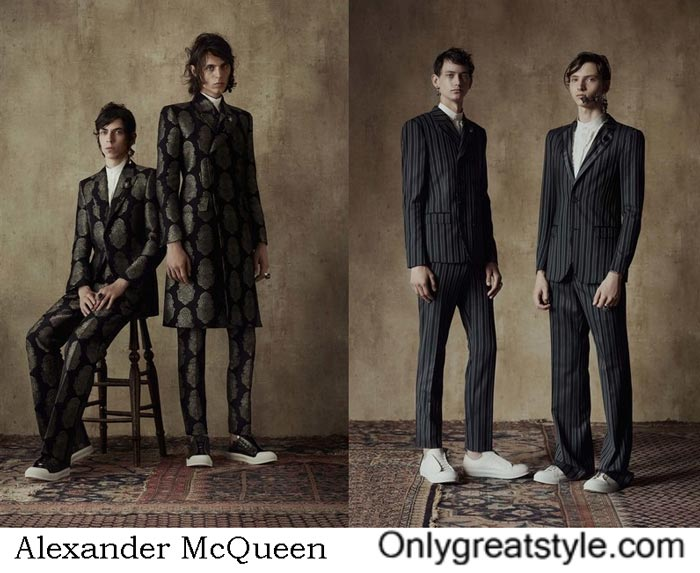 Alexander McQueen Spring Summer 2017 Fashion Show Men's