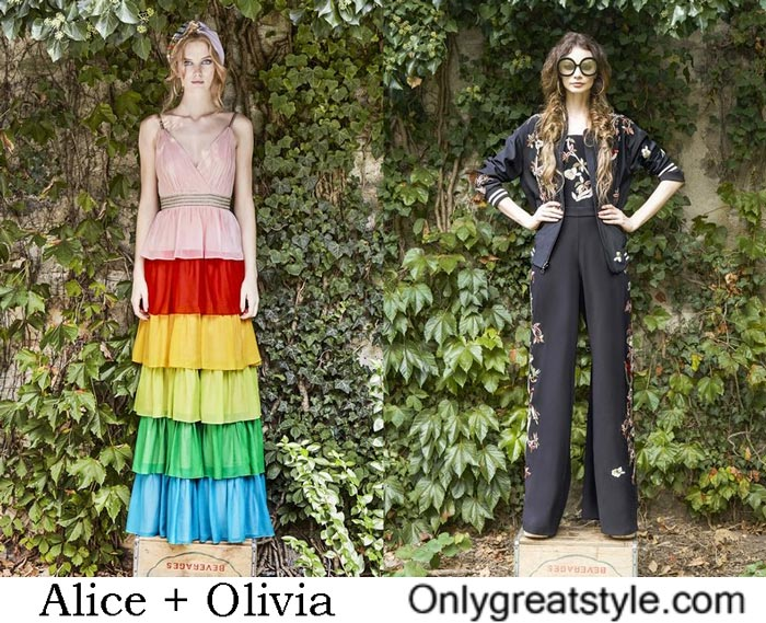 Alice + Olivia Collection Spring Summer 2017