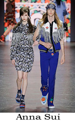Anna Sui Collection Spring Summer 2017 Trends