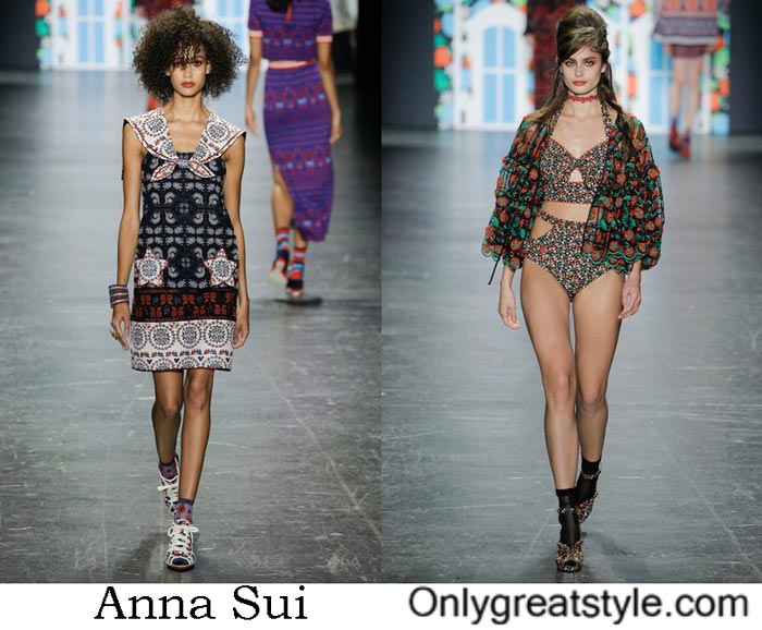 Anna Sui Collection Spring Summer 2017