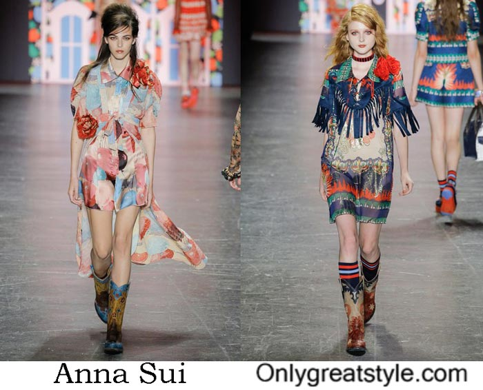 Anna Sui Spring Summer 2017 Fashion Show Women's