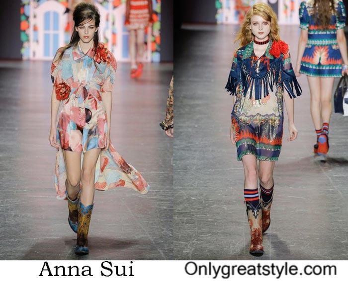 Anna Sui Spring Summer 2017 Fashion Show Women's