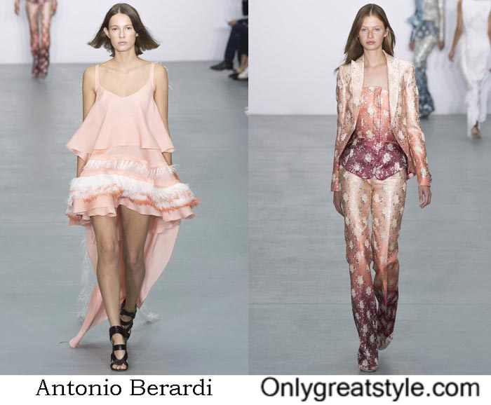 Antonio Berardi Collection Spring Summer 2017