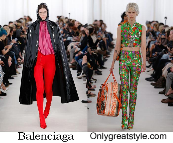 Balenciaga Collection Spring Summer 2017