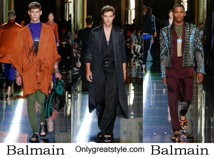 Balmain Collection Spring Summer 2017