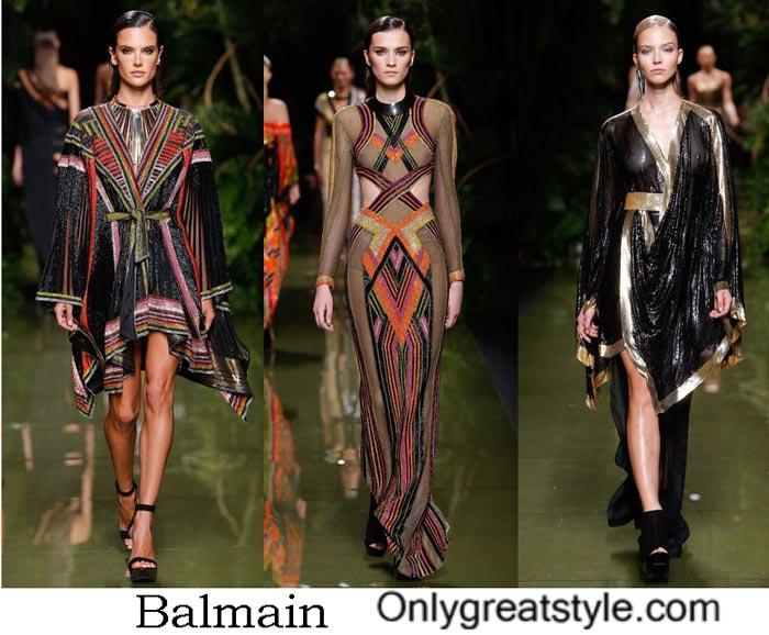 Balmain Collection Spring Summer 2017