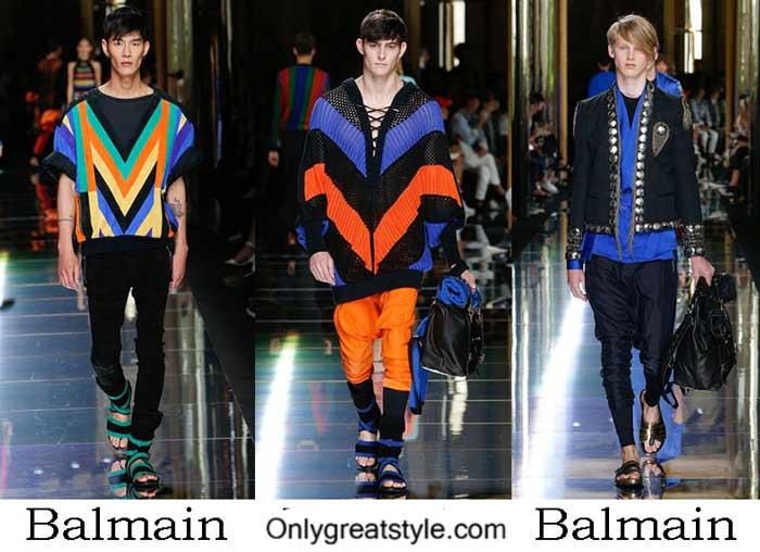 Balmain Spring Summer 2017 Fashion Show Men's