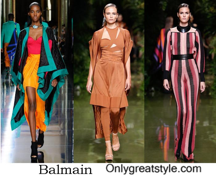 Balmain Spring Summer 2017 Fashion Show Women's