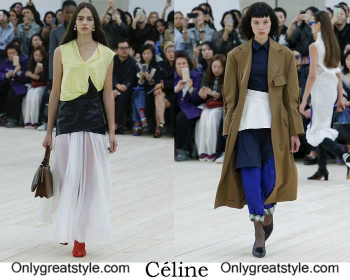 Céline Spring Summer 2017 Fashion Show Women's