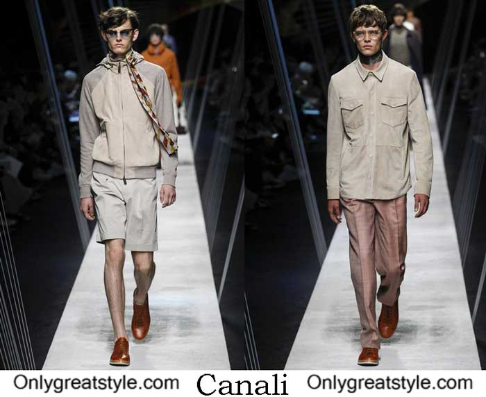 Canali Collection Spring Summer 2017