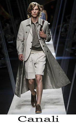 Canali Spring Summer 2017 Trench