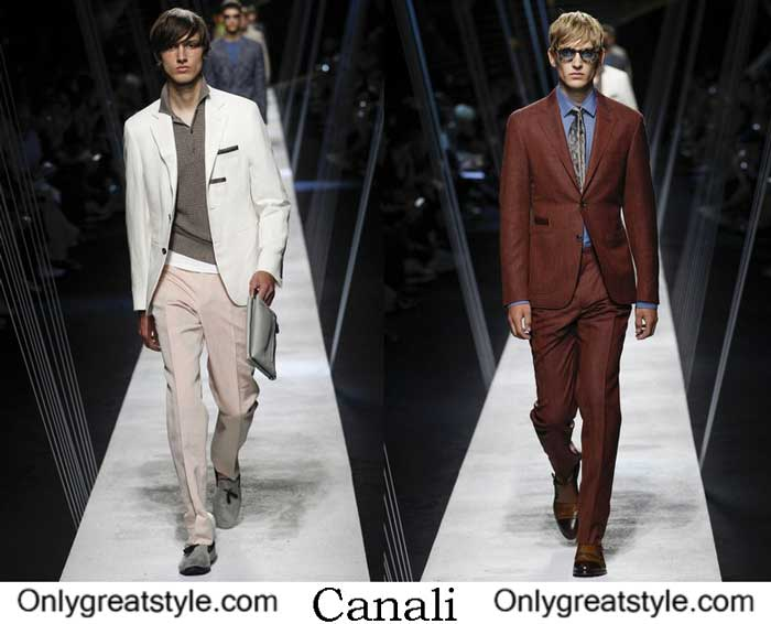 Canali Spring Summer 2017 Fashion Show Men's