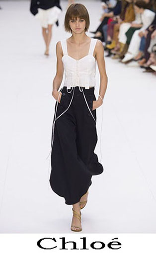 Chloé Spring Summer 2017 Trousers
