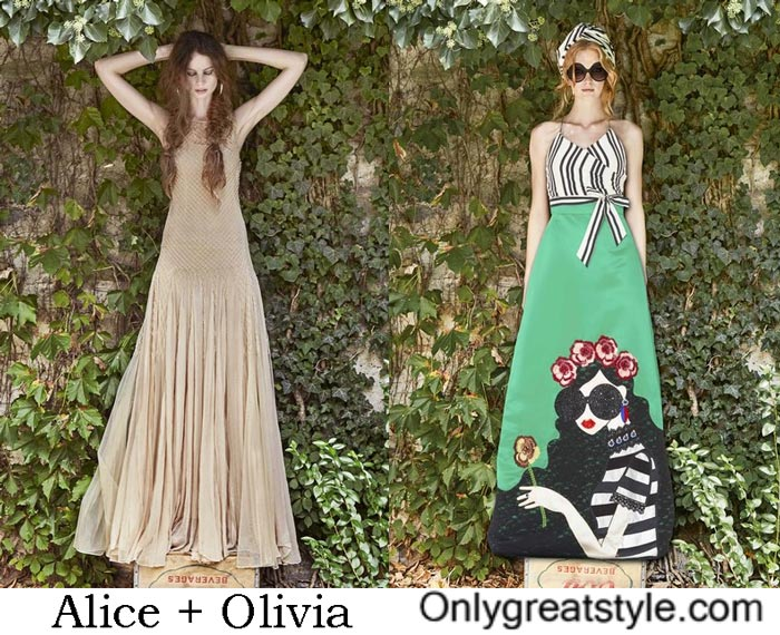 Clothing Alice + Olivia Spring Summer 2017