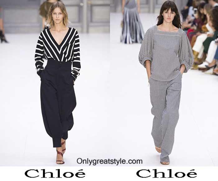 Clothing Chloé Spring Summer 2017
