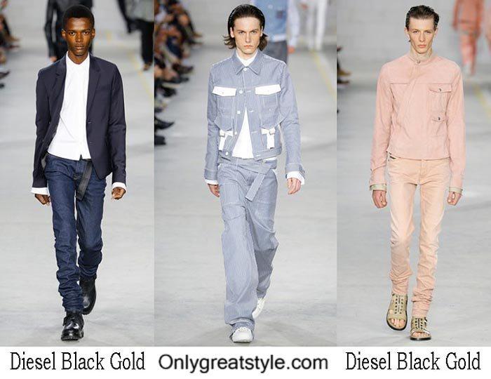 Diesel Black Gold Spring Summer 2017 Brand Style For Men