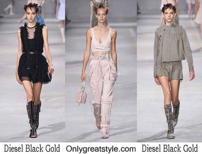 Diesel Black Gold Spring Summer 2017 Fashion Clothing