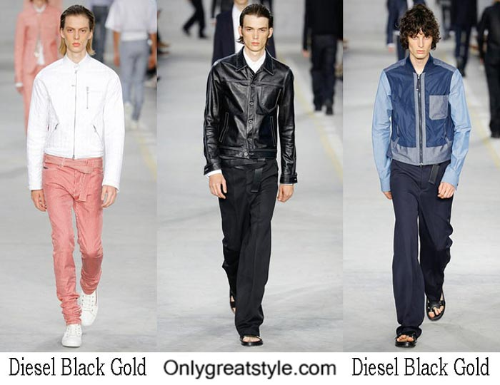Diesel Black Gold Spring Summer 2017 Fashion Show Men
