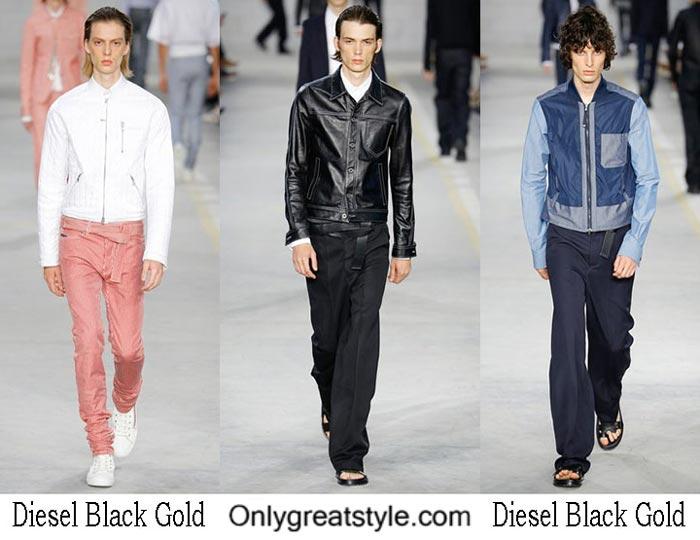Diesel Black Gold Spring Summer 2017 Fashion Show Men