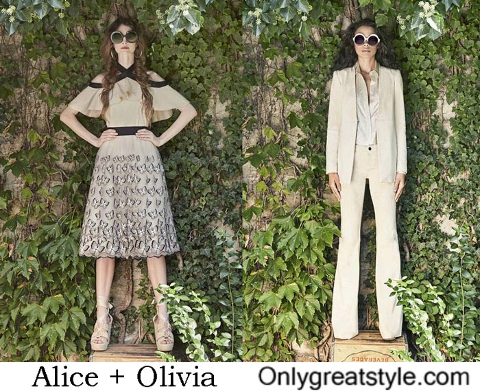 Dresses Alice + Olivia Spring Summer 2017
