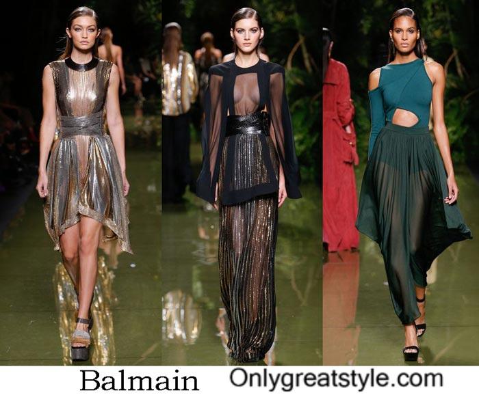 Dresses Balmain Spring Summer 2017
