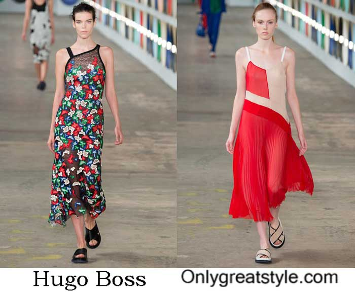 Dresses Hugo Boss Spring Summer 2017