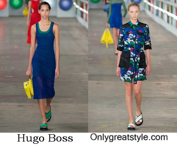 Hugo Boss Spring Summer 2017 Fashion Show Women's