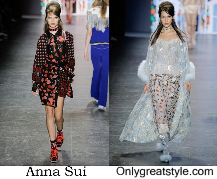 Lifestyle Anna Sui Spring Summer 2017