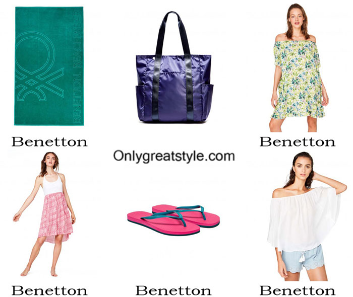 Beach Accessories Benetton Summer 2017