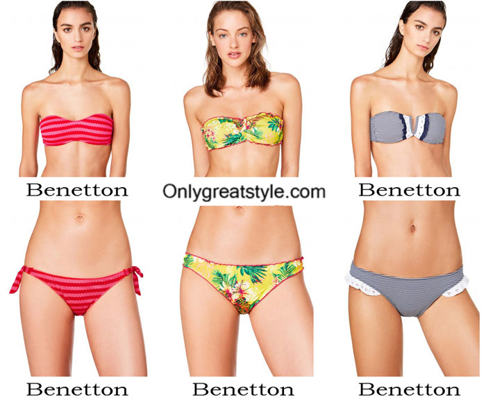 Swimsuits Benetton Summer 2017