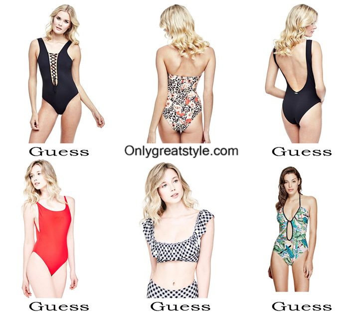 Swimsuits Guess Summer 2017