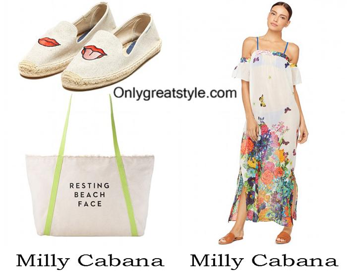 Beachwear Milly Cabana Summer 2017