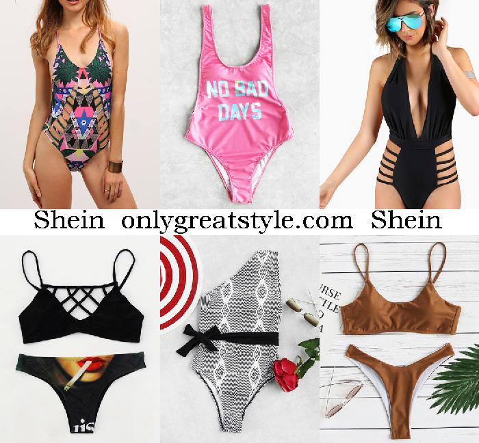 e5c13923d1 Bikinis Shein summer 2017 catalog swimwear