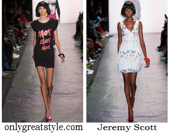 Brand Jeremy Scott Spring Summer