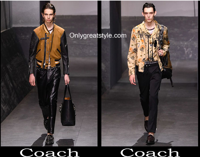 Clothing Coach Spring Summer