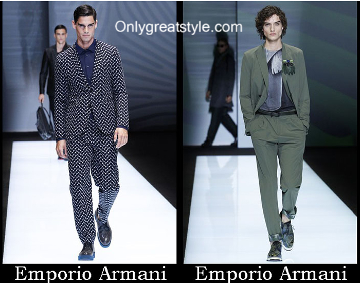 Clothing Emporio Armani Spring Summer