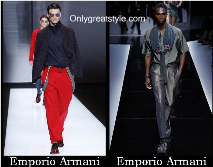 Fashion Emporio Armani Spring Summer